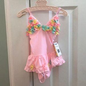 NWT Little Me Bathing Suit